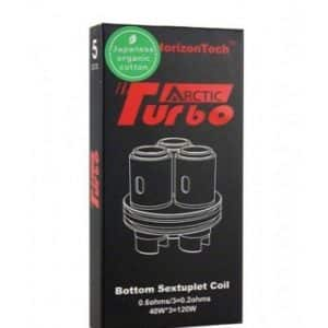 HorizonTech Arctic Turbo Bottom Sextuplet Coil 0.6ohm